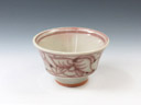 photo Japanese pottery sake cup (Mumyoi-Yaki)