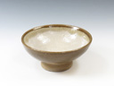 photo Japanese pottery sake cup (Onchi-Yaki)